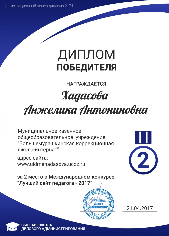 Международный конкурсы для учителей в 2017 году
